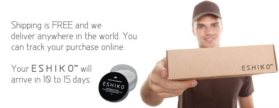Make Skin Smoother With Eshiko Mineral Loose Powder