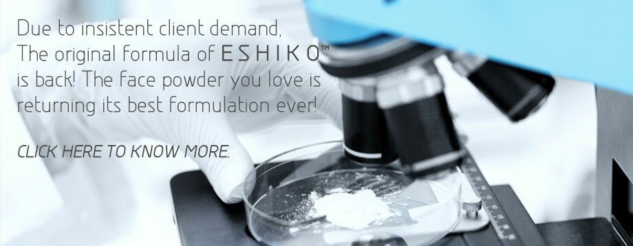 Make Skin Smoother With Eshiko - Best Face Powder Ever!